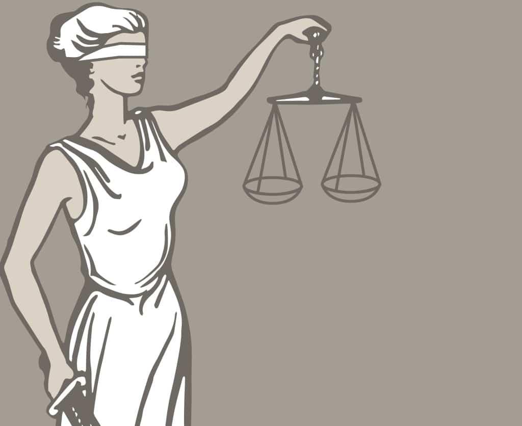 Justitia - Rechtsanwalt - Fachanwalt Strafrechtt