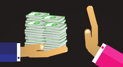Keine Geldannahme - Bestechlichkeit